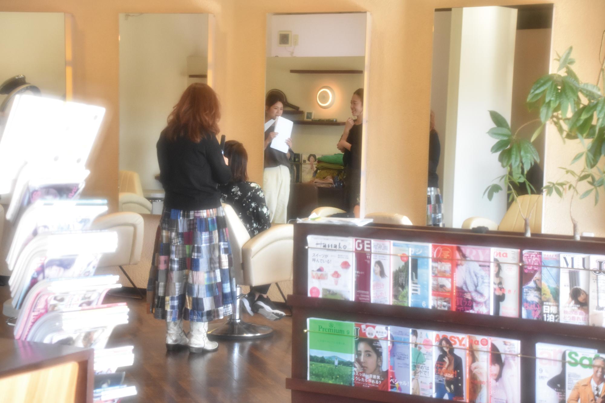 shinehead 美容室 | 和歌山県橋本市 | スタイド画像1